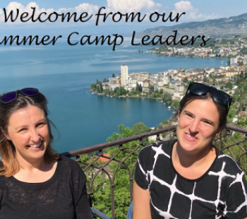 Welcome from our Summer Camp Leaders
